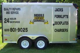 Mobile Esquipment Services Trailer